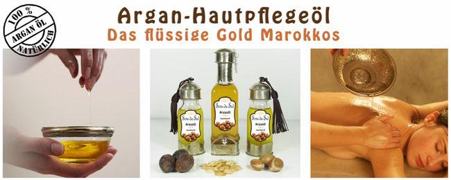 Arganöl 100% rein pur Hautpflegeöl Massageöl Körperöl Sens du Sud Casa Mina Design