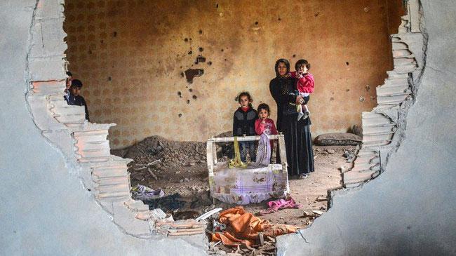 Knallcharge ERDOGAN: Angesichts der Verfolgung könnten in der nächsten Zeit Zehntausende Kurden nach Europa, v.a. nach Deutschland kommen. © Ilyas Akengin/AFP/Getty Images
