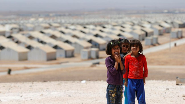 Flüchtlingscamp in Jordanien © Muhammad Hamed/Reuters