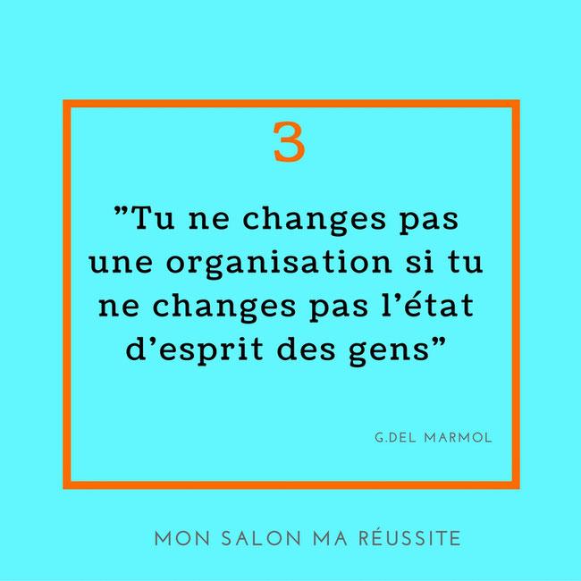Boost, changement, organisation, état d'esprit, management