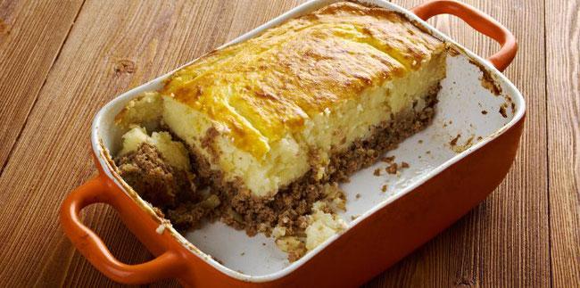 Parmentier au boudin noir et patate douce - Recette le cochon de falaise