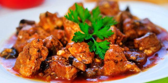 Mijotée d'araignée de porc au potimarron et moutarde à l'ancienne - Recette le cochon de falaise