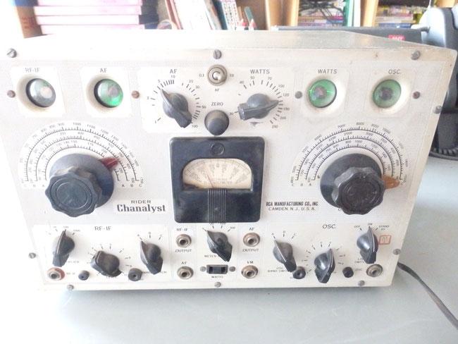 「稀少品」RCAライダーチャナリスト162-Cテスト機器 SOK