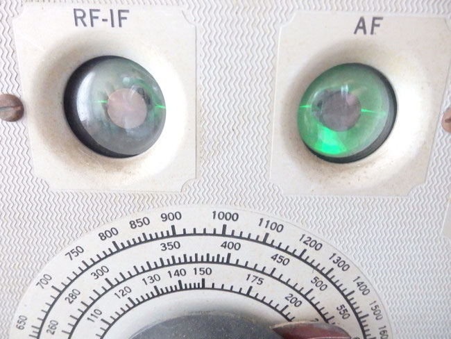 RCAライダーチャナリスト162-Cテスト機器  マジックアイ