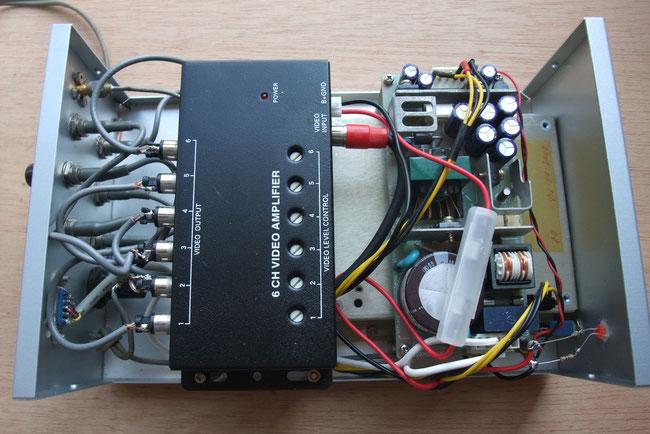Trimble ThunderBolt GPS周波数標準器 内部