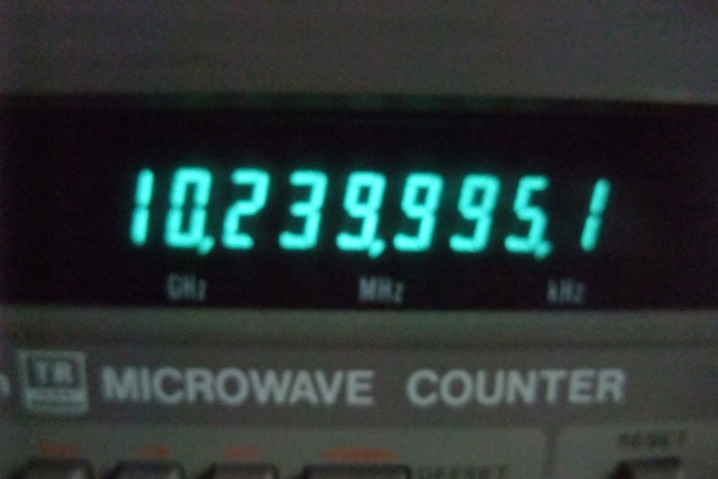 10GHz周波数