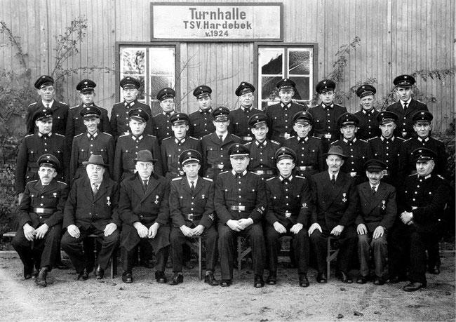 Feuerwehr-Gruppenbild