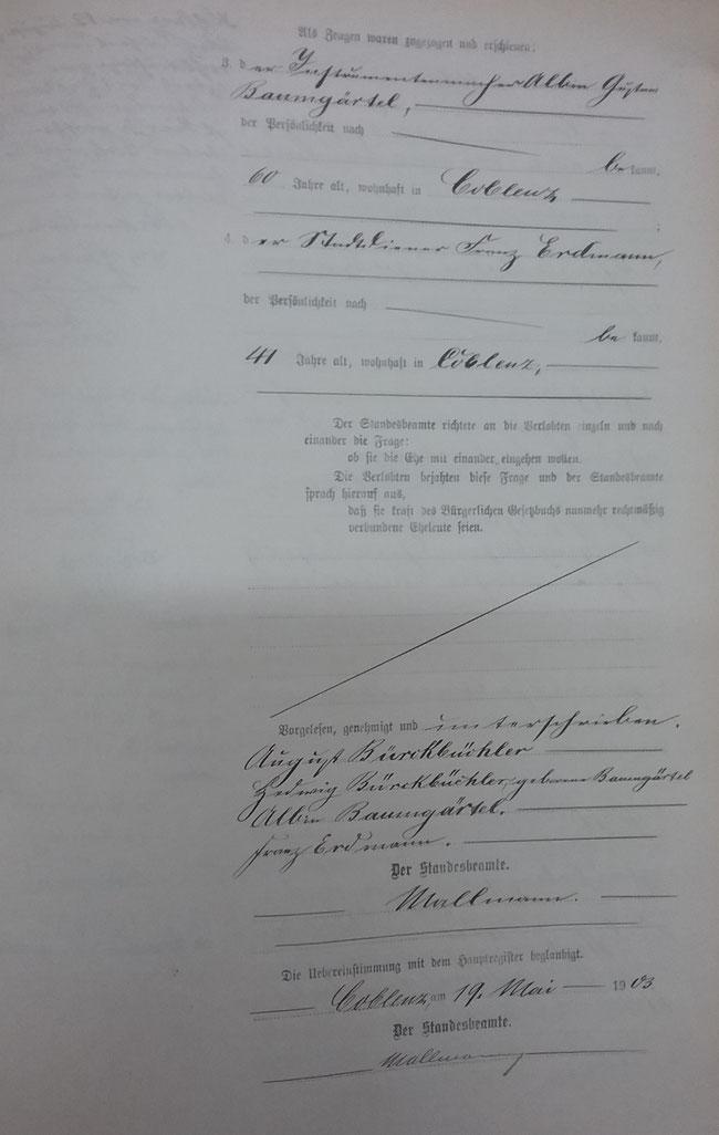 Quelle: Archiv  BÜRCKBÜCHLER, Achim