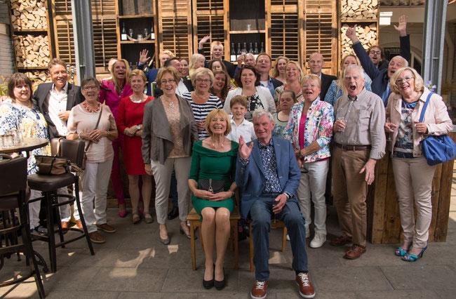 Jubileum paar (50 jaar getrouwd) in 2016