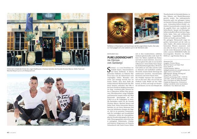A LA CARTE - Magazin (Ausgabe Juni 2019)