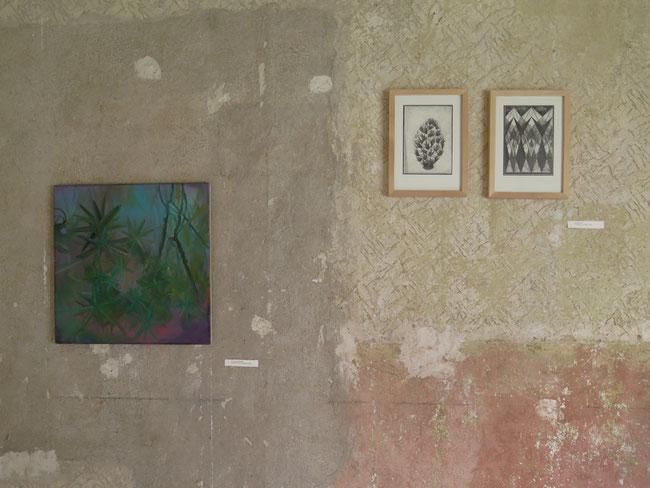 Andrea Hildebrandt - Malerei / Ricarda Hoop - Zeichnung