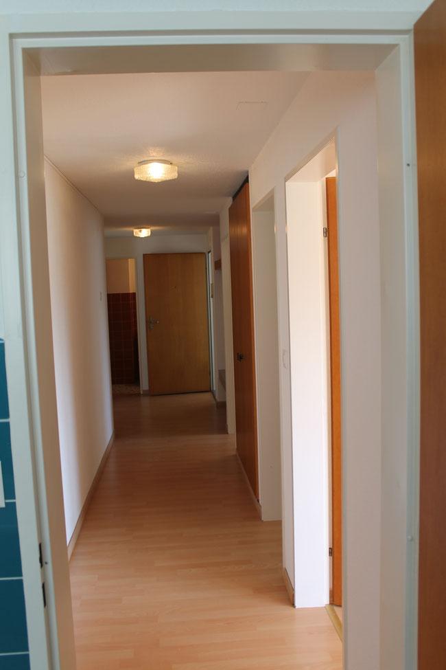 Korridor in der 4,5 Zimmerwohnung