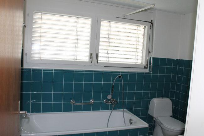 Badezimmer, 2 Lavabo, Fenster