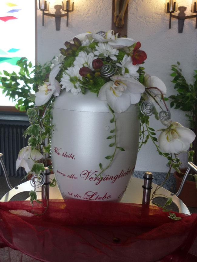 Trauerfloristik - Sabrinas Blumenlädele - Sonthofen
