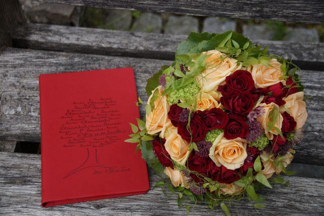 Hochzeitsstrauß - Sabrinas Blumenlädele