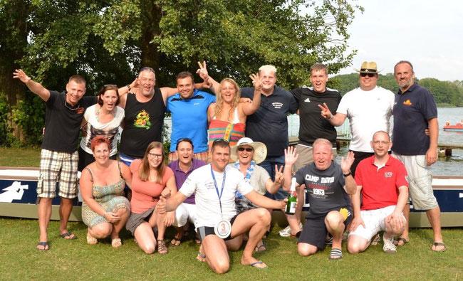 Teamerfolg bei den Hot-Water-Games 2014 der Blues Brothers aus Schwerin! 3. Platz! Vielen Dank für dieses tolle Erlebnis gilt den Veranstaltern und unser Team!