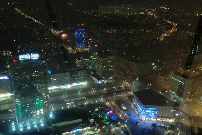 Berlin bei Nacht vom Fernsehturm