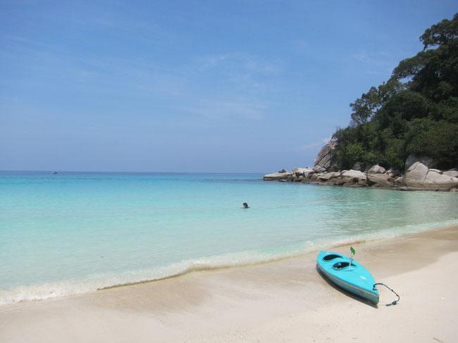 Hidden Bech, Pulau Perhentian Besar