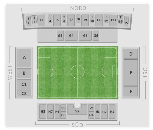 Stadionplan Sitzplan Ludwigsparkstadion. Quelle: https://neunzehnhundertdrei.de/outsources/stadionplan.jpg