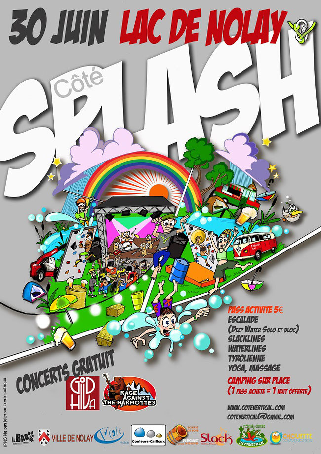 Côté Splash 2018 à Nolay