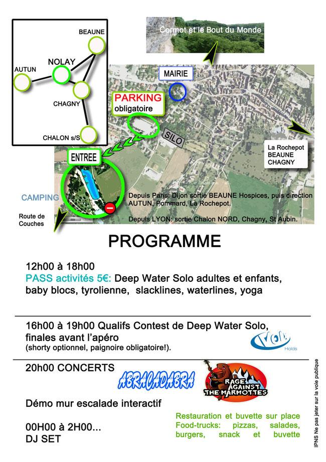 Programme Côté Splash 2017