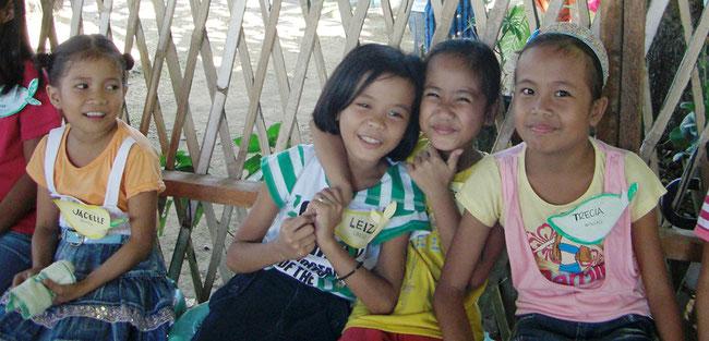 AIC-Japanが支援しているフィリピンのDCセンターの子ども達