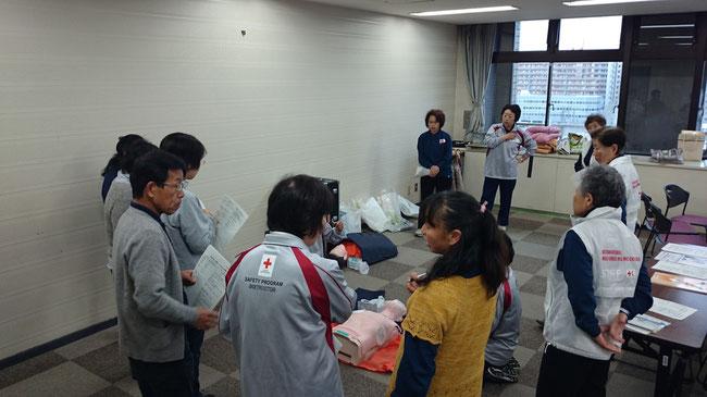 2014/11/26 日赤救急法基礎講習会