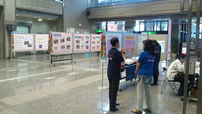赤十字パネル展(毎年5月)