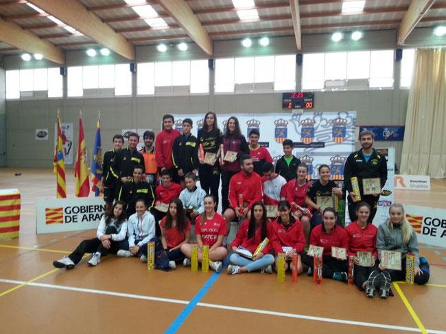 Cuadro de Honor con los jugadores premiados en la Competición.