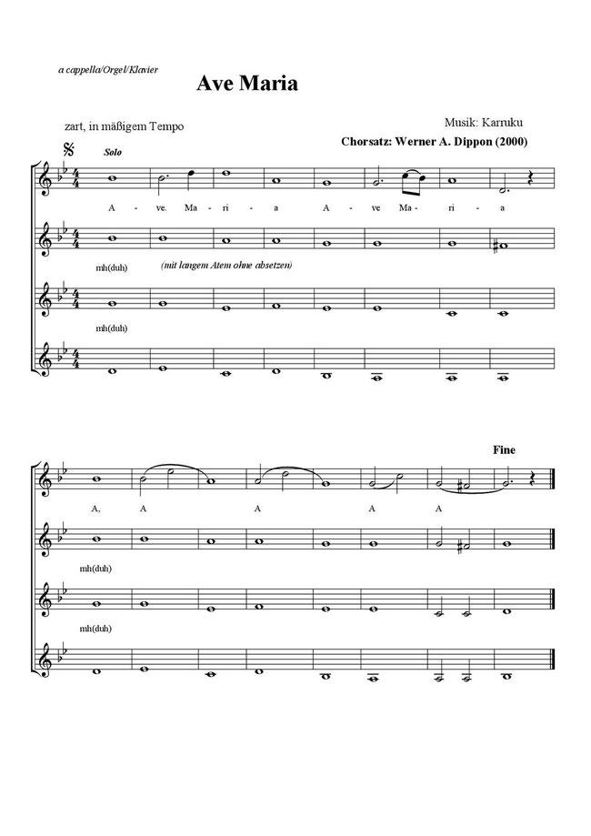 komplett erhältlich für Frauen & gemischter Chor im Verlag Scholing, Waiblingen