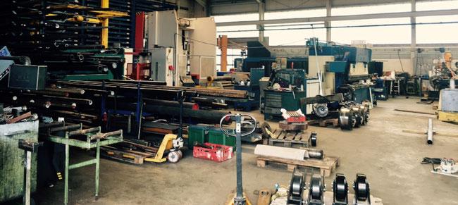 Hydraulik Instandsetzung, Werkstatt
