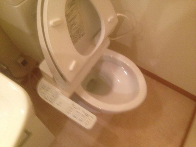特殊清掃 トイレ アフター