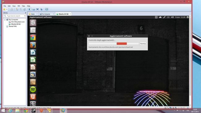 Un Ubuntu modificato con icone Faenza