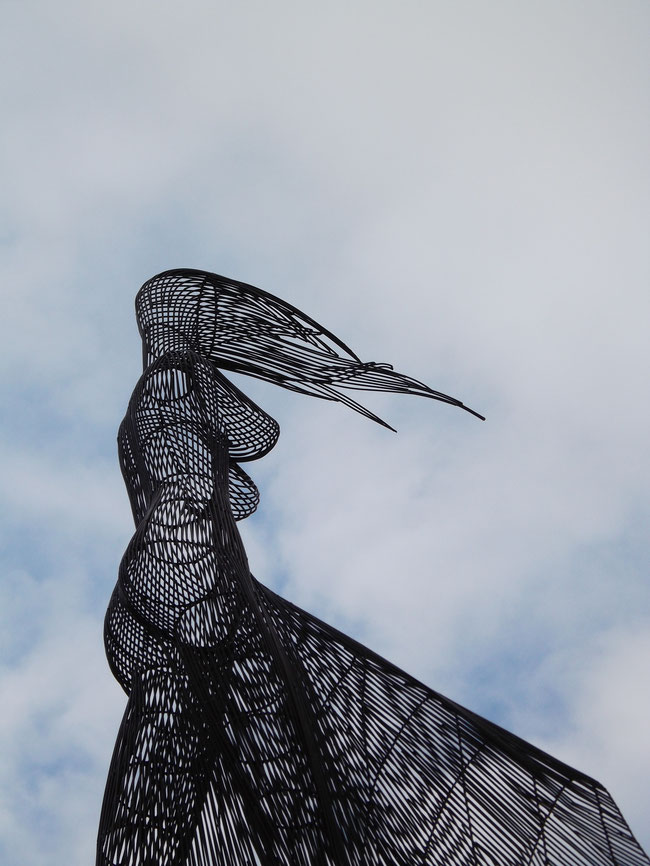 BIG WOMAN hierro 300x250x70cm