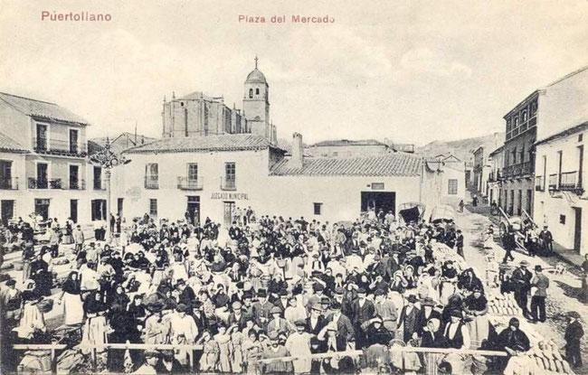 La Asunción en 1906.