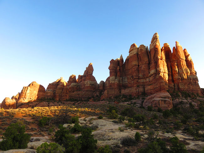 """The Needles"" en el Canyonlands National Park"