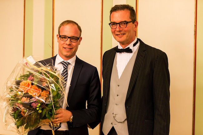 Reto Schertenleib bei der Wahl zum Thuner Stadtratspräsidenten 2019