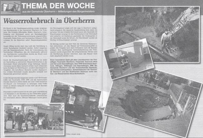 Quelle: Amtsblatt Übernerrn