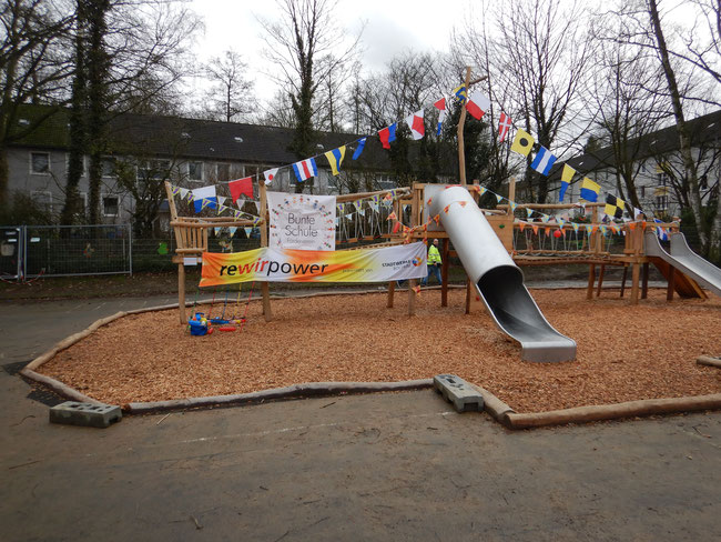 Klettergerüst Schule : Es ist soweit « schule am burgweiher