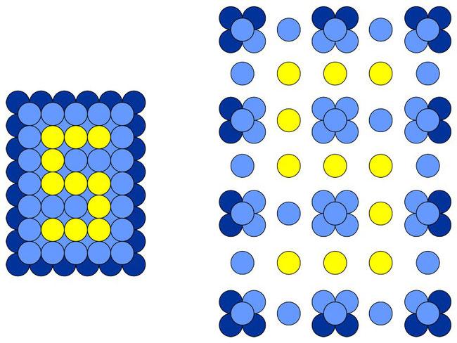 Схема изготовления панно из воздушных шаров