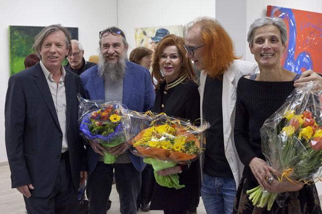 Gazmend Freitag, Josef Rojko, Johanna K. Penz, Norbert Zehm und Christine Freii. Photo: Hans Steininger