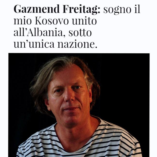 Ein Interview auf italienisch mit der sehr netten Journalistin Anita Likmeta!