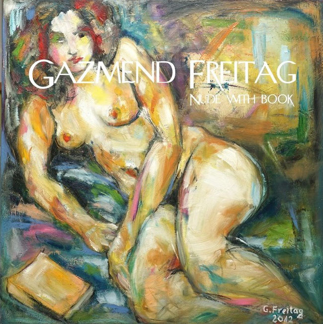 Gazmend Freitag: Nude with book