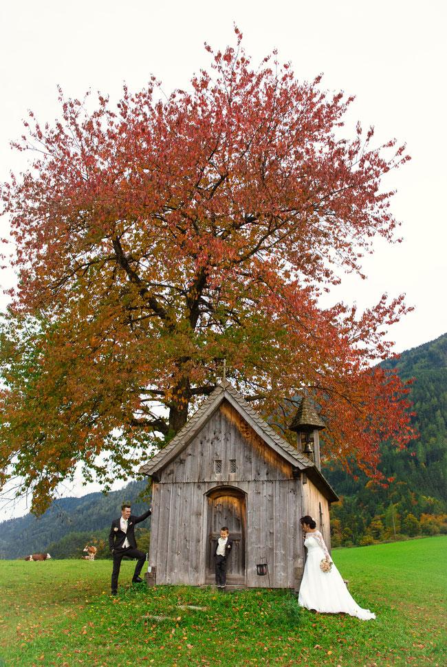 Hochzeit Gallzein/Tirol