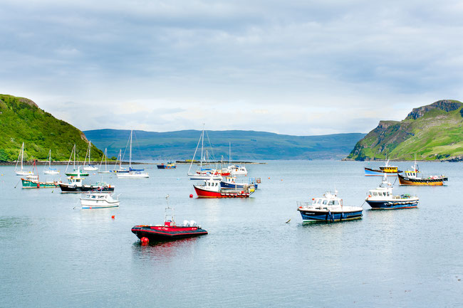 Potree Bay Isle of Skye/Scottland