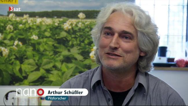 Fernsehbeitrag über Schüßler-Pilze in der Landwirtschaft