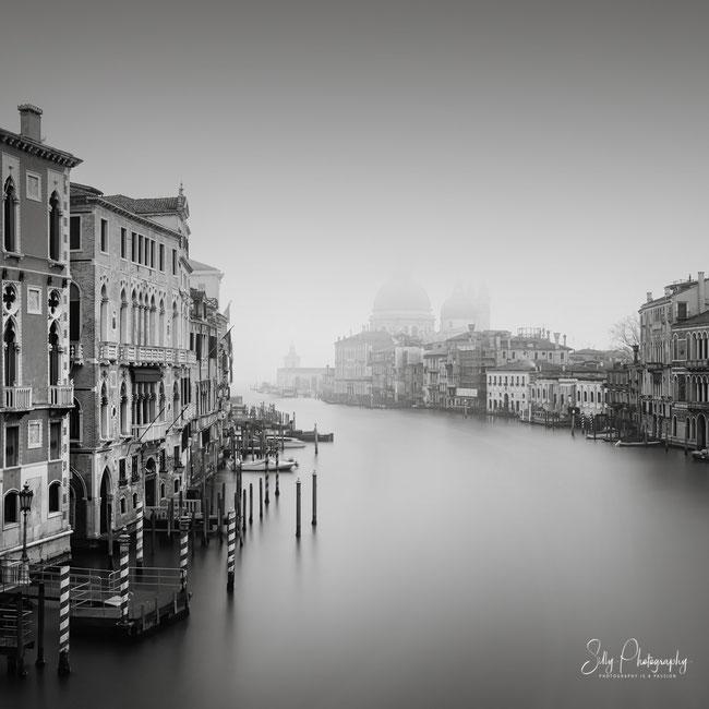 Venedig / Venezia / Santa Maria della Salute, Langzeitbelichtung, 2017, © Silly Photography
