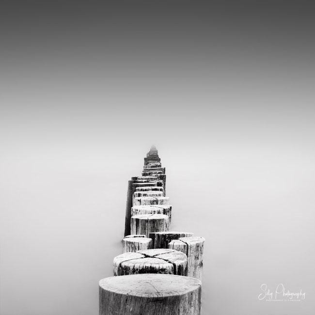 Ostsee, Darß, Zingst, Seenebel. Langzeitbelichtung, 2018, © Silly Photography