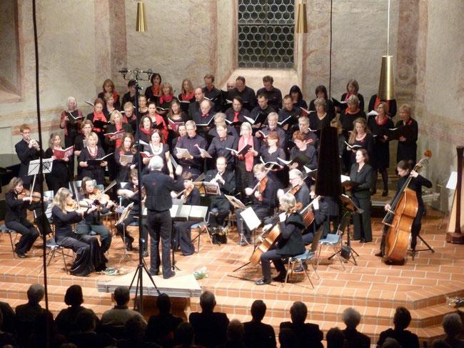 """""""Gloria"""" von A. Vivaldi, Dezember 2011 in der Martinskirche"""
