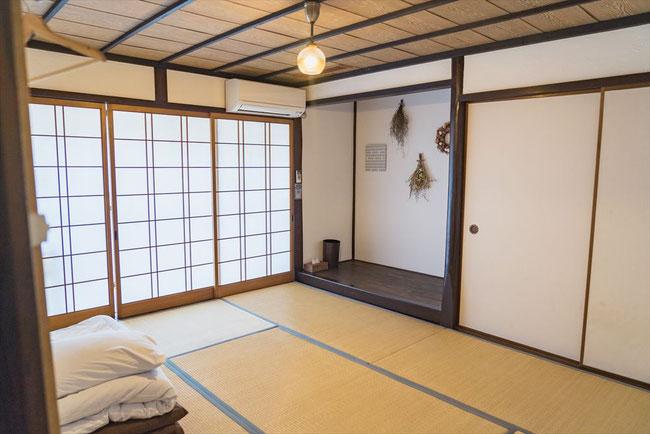 兵庫県竹野ひととまる和室